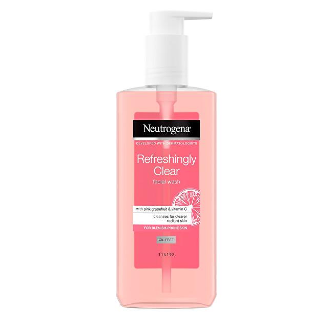 Neutrogena Osvěžující mycí emulze s výtažkem z růžového grepu Visibly Clear Pink Grapefruit (Facial Wash) 200 ml