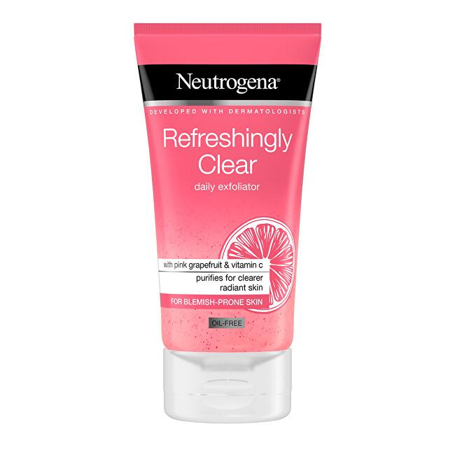 Neutrogena Osvěžující peeling s výtažkem z růžového grepu Pink Grapefruit Refreshingly Clear (Daily Exfoliator) 150 ml