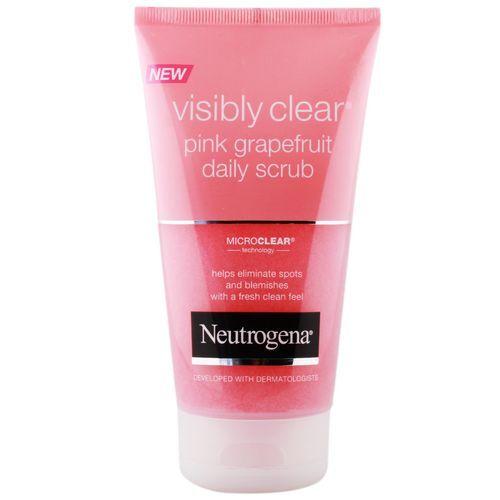 Neutrogena Osvěžující peeling s výtažkem z růžového grepu Visibly Clear Pink Grapefruit (Daily Scrub) 150 ml