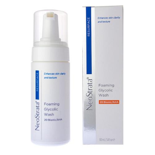 NeoStrata Pěna pro hloubkové čištění pleti Resurface (Foaming Glycolic Wash) 100 ml