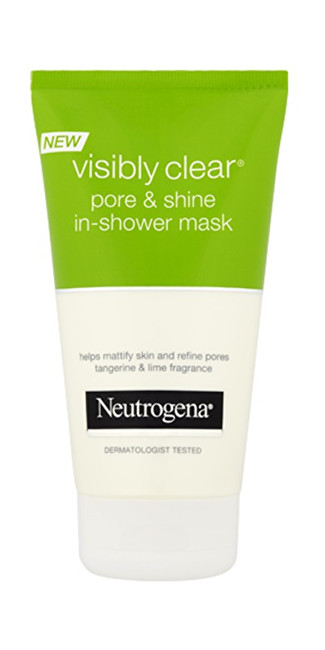 Neutrogena Pleť ová maska do sprchy Visibly Clear Pore & Shine (In Shower Mask) 150 ml