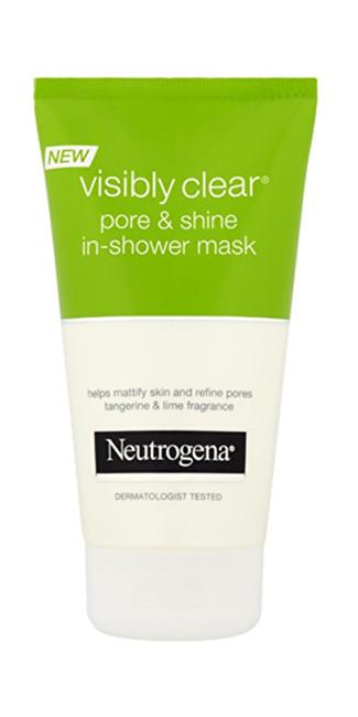 Neutrogena Pleťová maska do sprchy Visibly ClearPore & Shine (In Shower Mask) 150 ml