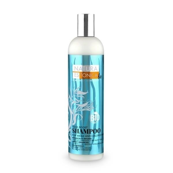 Natura Estonica Šampon pro siilnou hydrataci 400 ml