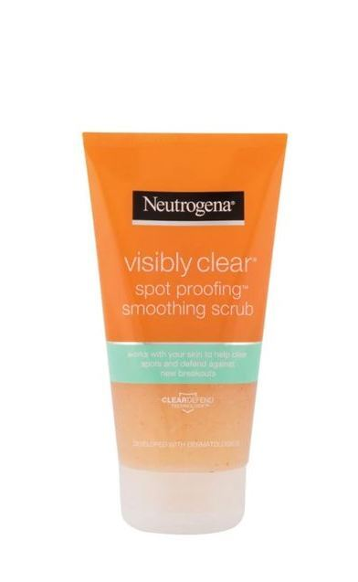 Neutrogena Vyhladzujúci peeling Visibly Clear Spot Proofing ( Smoothing Scrub) 150 ml