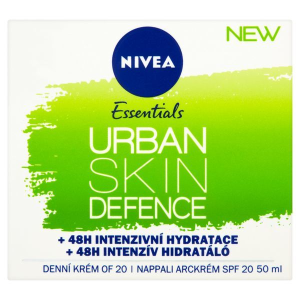Nivea Antioxidační denní krém Urban Skin Defence Essentials SPF 20 (Day Cream) 50 ml