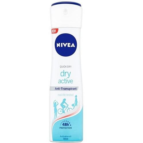 Nivea Antiperspirant ve spreji Dry Active (Anti-Transpirant) 150 ml