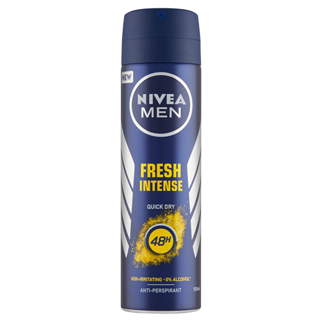 Nivea Antiperspirant ve spreji pro muže Men Fresh Intense 150 ml