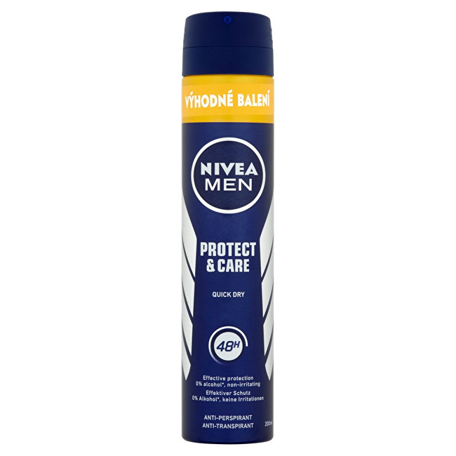 Nivea Spray antiperspirant pentru bărbați Men Protect & Care 200 ml