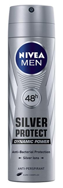 Nivea Antiperspirant ve spreji pro muže Silver Protect Dynamic Power 150 ml