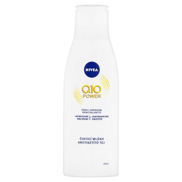 Nivea Čisticí pleťové mléko proti vráskám Q10 Plus 200 ml
