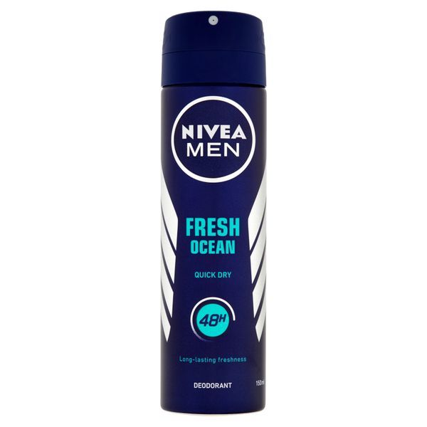 Nivea Spray deodorant pentru barbati 48h Ocean Fresh 150 ml