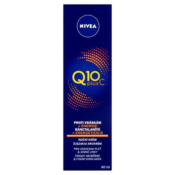 Nivea Energizující noční krém proti vráskám Q10 Plus C 40 ml