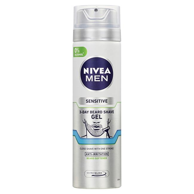 Nivea Gel na holení na 3 denní strniště Men (3 Day Beard Shave Gel) 200 ml