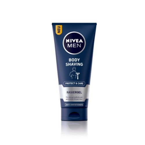 Nivea Gel pentru bărbierit pe corp Men (Protect & Care Body Shaving) 200 ml
