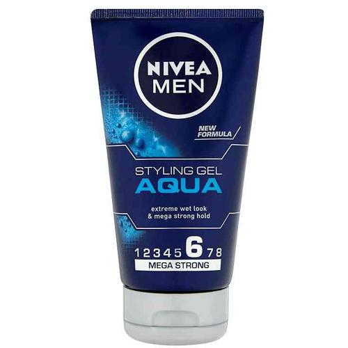 Nivea Gél na vlasy s mokrým efektom Aqua ( Styling Gel) 150 ml