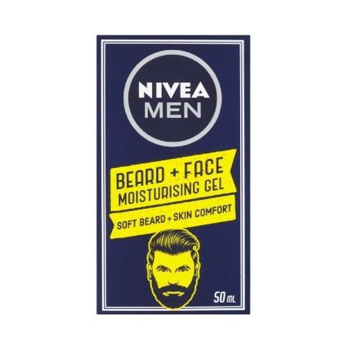 Nivea Man hydratační gel na vousy 50 ml