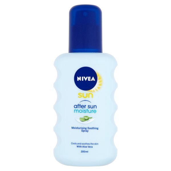Nivea Hydratační sprej po opalování After Sun (Moisturizing After Sun Spray) 200 ml