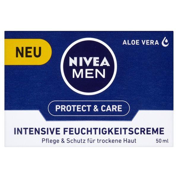Nivea Crema hidratanta intensiva pentru ten uscat pentru bărbați 50 ml