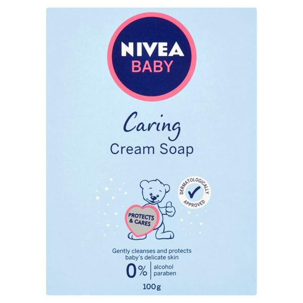Nivea Krémové mýdlo Baby 100 g
