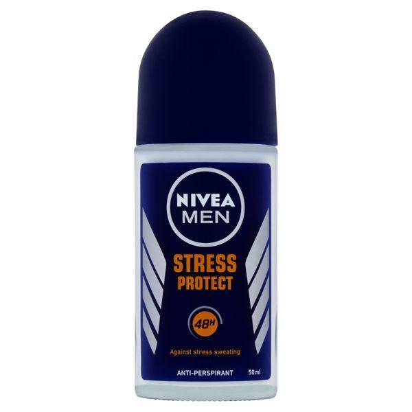 Fotografie Nivea Kuličkový antiperspirant pro muže Stress Protect Men 50 ml