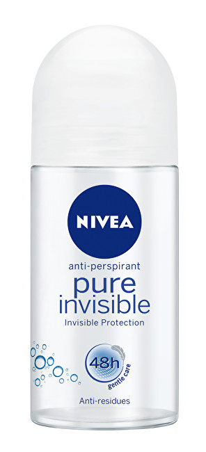 Nivea Guličkový antiperspirant Pure Invisible 50 ml