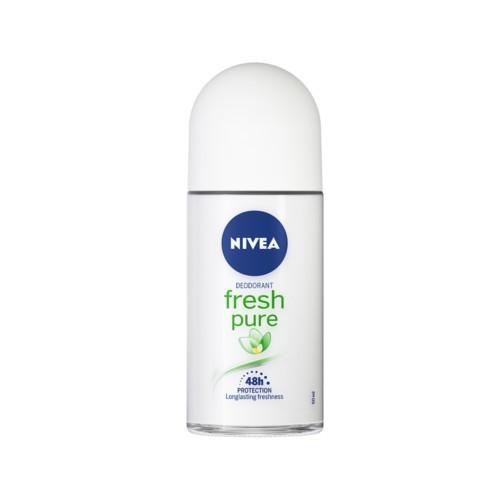 Nivea Guličkový dezodorant Pure & Natura l Jazmín (Deodorant Roll-On) 50 ml