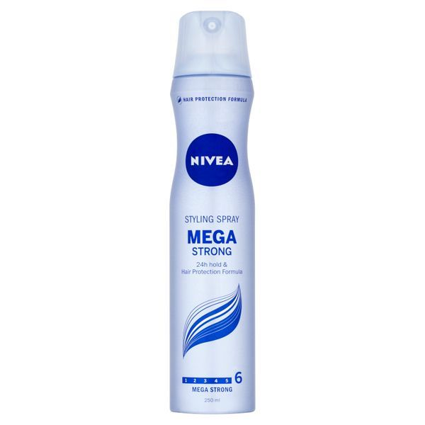 Nivea Lak na vlasy Mega Strong ( Styling Spray) 250 ml