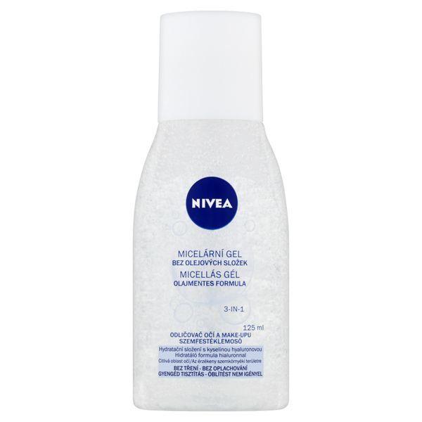 Nivea Micelární gel s kyselinou hyaluronovou (Eye Make-Up Remover) 125 ml