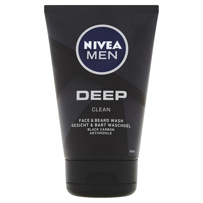 Nivea Umývací gél na tvár a fúzy Deep (Wash Gel) 100 ml