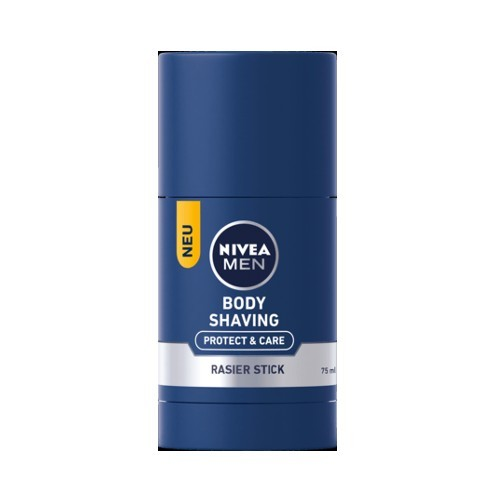 Nivea Săpun de bărbierit pe corp pentru bărbați Men (Body Shaving Stick Protect & Care) 75 ml