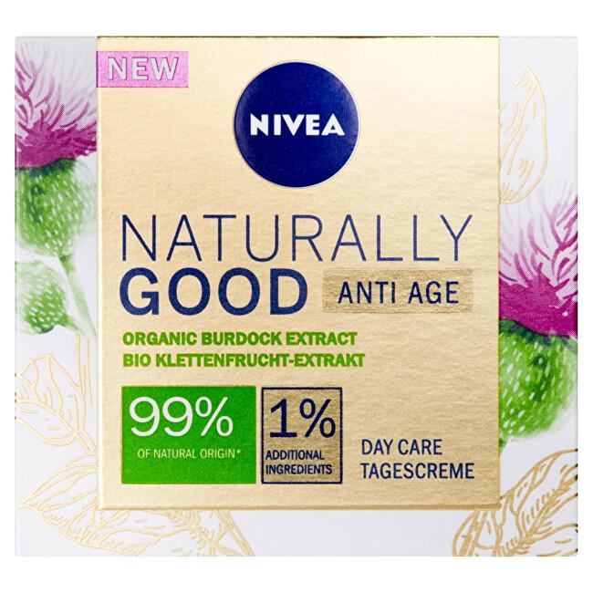 Nivea Denný krém proti vráskam Natura l ly Good 50 ml