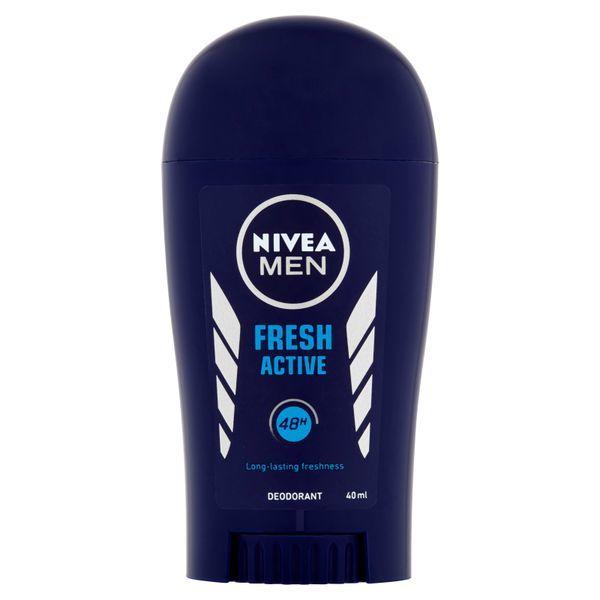 Fotografie Nivea Tuhý deodorant pro muže Fresh Active 40 ml