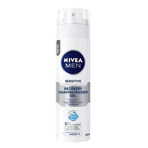 Nivea Obnovující gel na holení pro citlivou pleť Sensitive (Recovery Shaving Gel) 200 ml