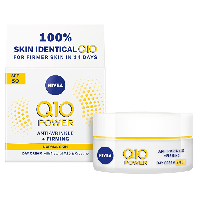 Nivea Zpevňující denný krém proti vráskam Q10 Power SPF 30 (Anti - Wrinkle   Firming Day Cream) 50 ml