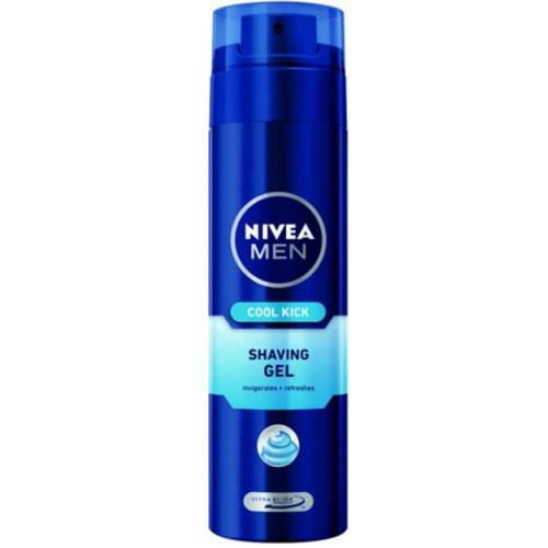 Nivea Osvěžující gel na holení Cool Kick (Shaving gel) 200 ml