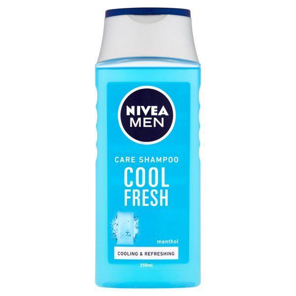 Nivea Pečující šampon pro muže Cool Fresh (Care Shampoo) 250 ml