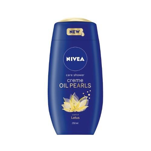 Nivea Ošetrujúci sprchový gél Creme Oil Pearls Lotos ( Care Shower) 250 ml