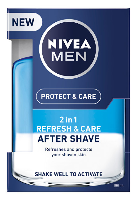 Nivea Ošetrujúce voda po holení 2v1 Men Refresh & Care 100 ml