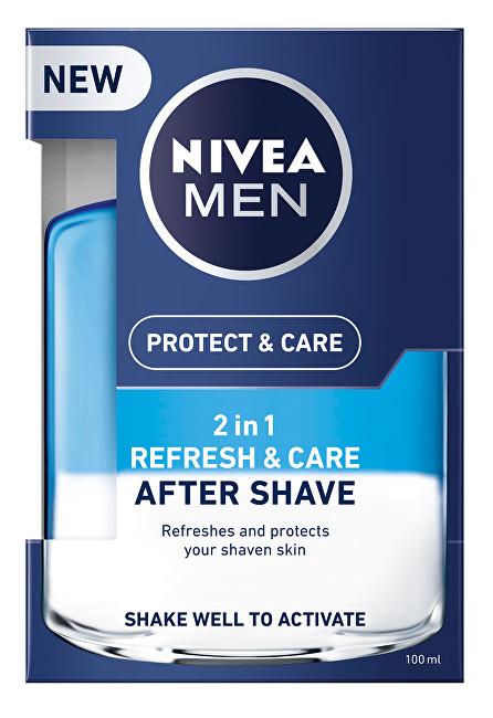 Nivea Loțiunede îngrijire după ras de bărbați2in1 Men Refresh&Care 100 ml