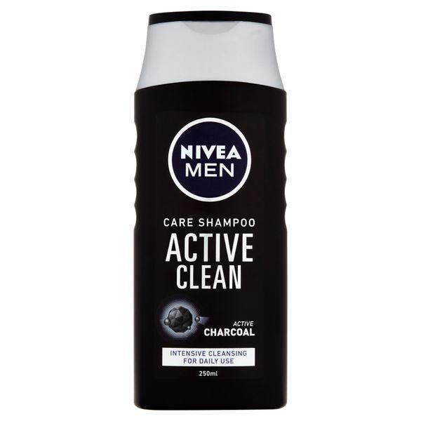 Nivea Șampon cu cărbune activ pentru barbati Active curate 250 ml