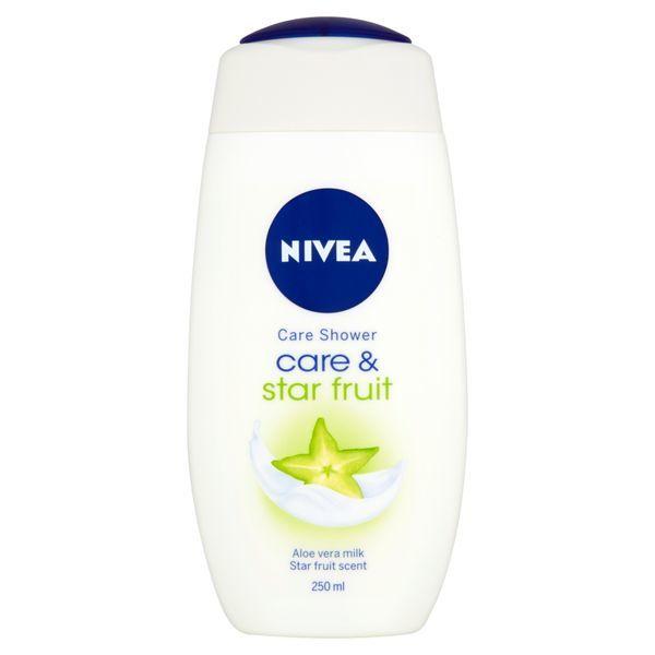 Nivea Sprchový gél Care & Starfruit 250 ml