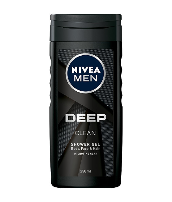 Nivea Gel de duș pentru bărbați profund (Clean Shower Gel) 250 ml
