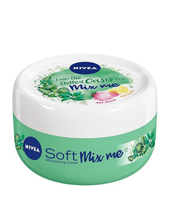 Nivea Svěží hydratační krém Soft Mix Me (Moisturizing Cream I Am The Chilled Oasis One) 100 ml
