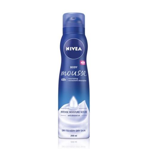 Nivea Tělová pěna pro velmi suchou pokožku (Body Mousse) 200 ml