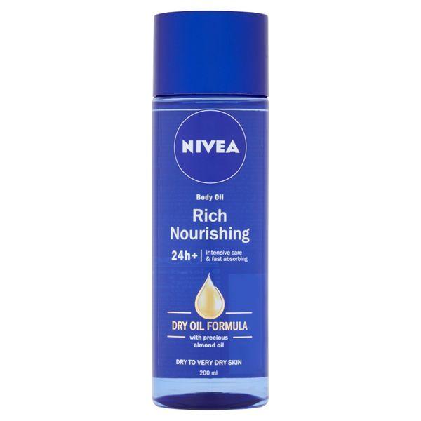 Nivea Tělový výživný olej Body Oil 200 ml