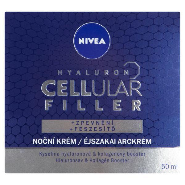 Nivea Vypĺňajúci nočný krém Hyaluron Cellular Filler 50 ml
