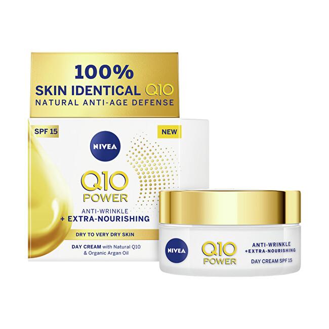 Nivea Výživný denní krém proti vráskám Q10 OF 15 (Anti-Wrinkle Extra Nourishing Cream) 50 ml