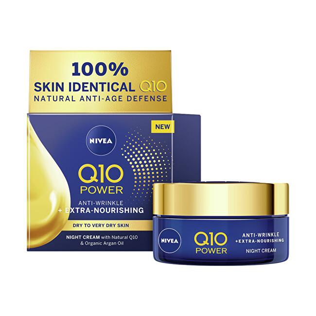 Nivea Výživný noční krém proti vráskám Q10 Power (Anti-Wrinkle Extra Nourishing Night Cream) 50 ml