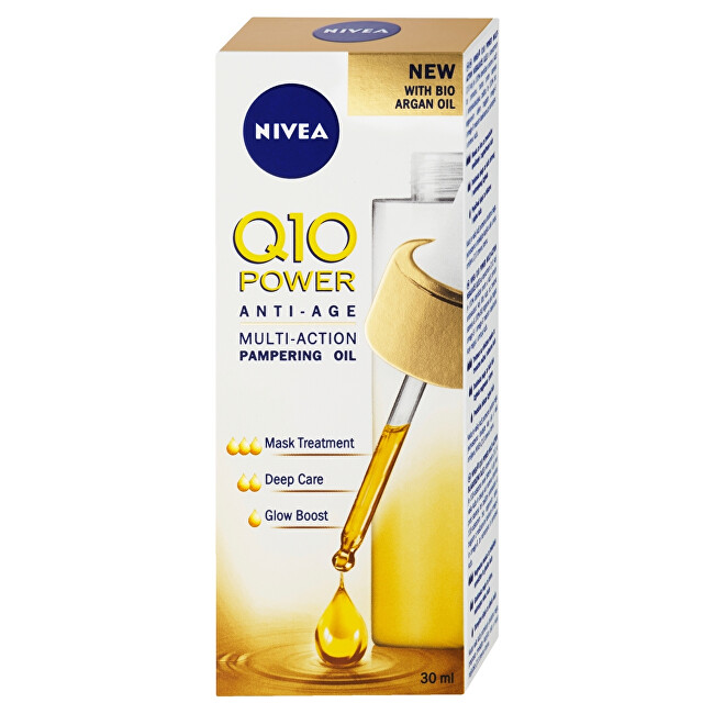 Nivea Výživný olej proti vráskam Q10 Power (Multi-Action Pampering Oil) 30 ml