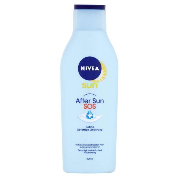 Nivea Zklidňující mléko po opalování SOS After Sun (Repair Lotion) 200 ml